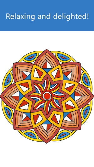 Mandala Coloring Book Paint Games For Adults And Girls Mandela Free Grown Ups On The App Store