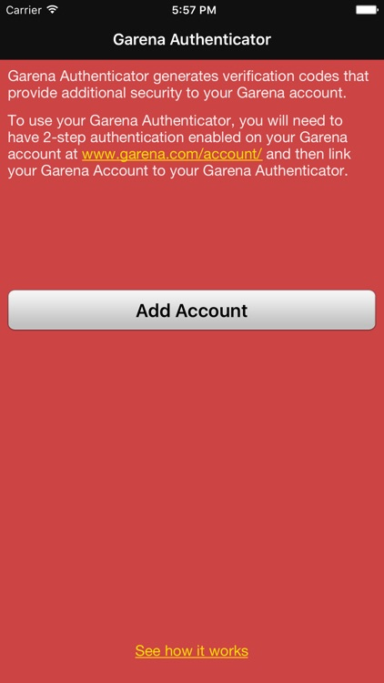 Garena Authenticator screenshot-0