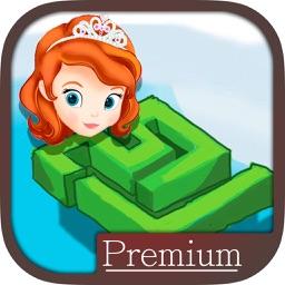 Mazes games of Rapunzel princesses Premium