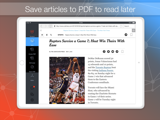 WEB To PDF Screenshot