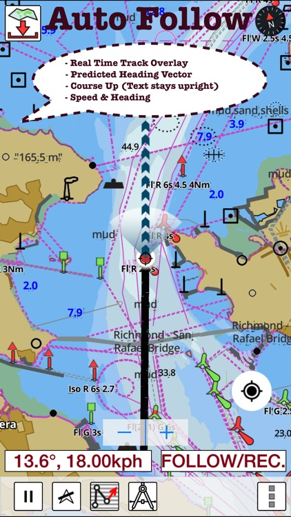 i-Boating: Canada & USA - Marine / Nautical Navigation Charts for fishing & sailing