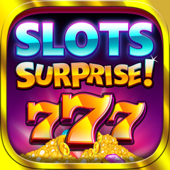 Slots Surprise - 5 reel, FREE casino fun, big lottery bonus game with daily wheel spins
