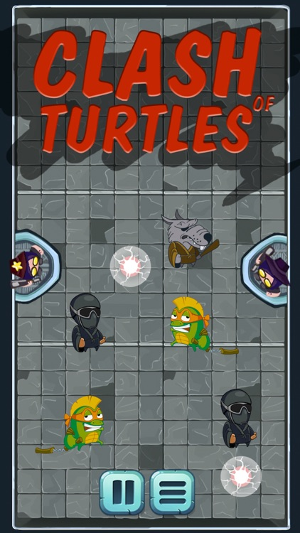 Clash of Turtles