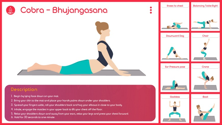 Meditation Yoga Studio - Quick Home Yoga Workouts, Poses and Exercise Fitness Routines screenshot-3