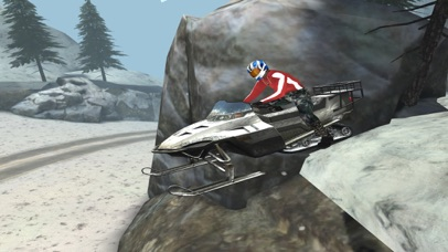 Arctic Snowmobile Racing - 3D eXtreme Winter Ice Trails Driving Edition Free screenshot three