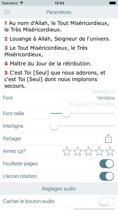 download Ecouter le Coran en Français. Holy Quran in French apps 1