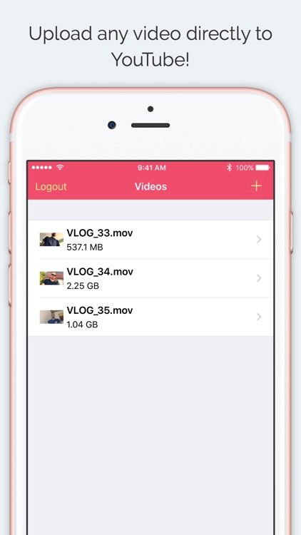 YouUpload – Upload videos for YouTube screenshot-0