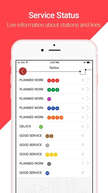 NYC Smart Subway screenshot-3