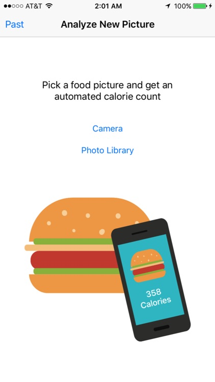 Food Calorie Counter - Automatically guess the calorie count in your food screenshot-0