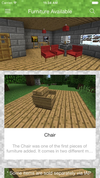 FURNITURE MODS for Minecraft PC - The Best Pocket Wiki & Tools for MCPC Edition screenshot-3