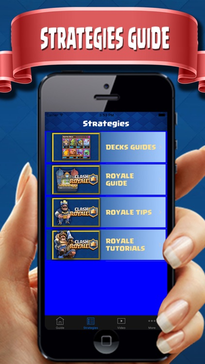 Complete Guide for Clash Royale - Deck Builder,COR