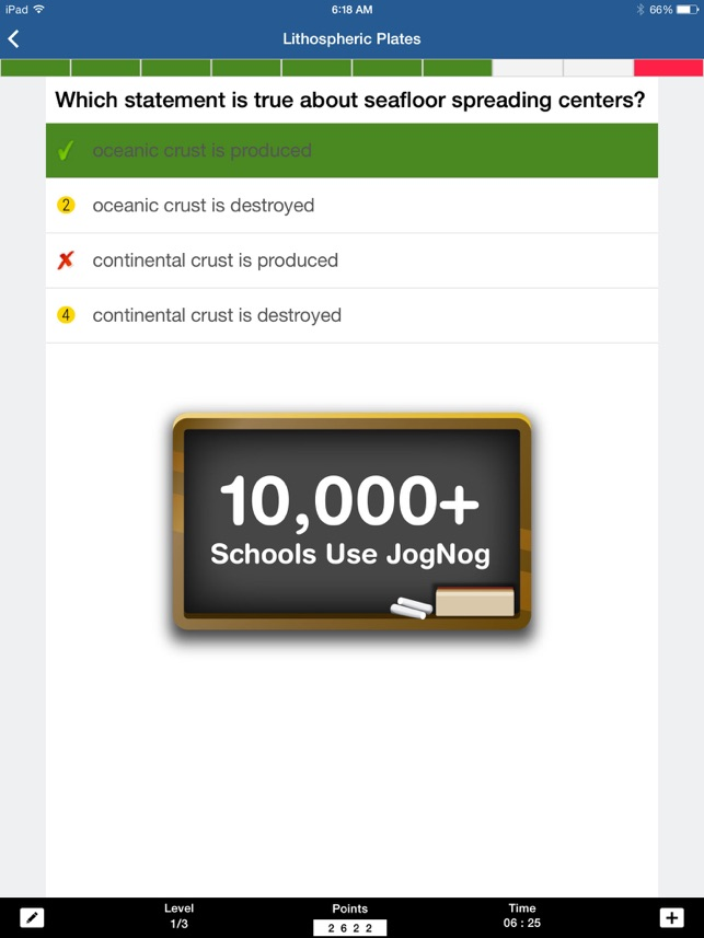 ‎JogNog - Quizzes and Worksheets for Review and Assessment Screenshot