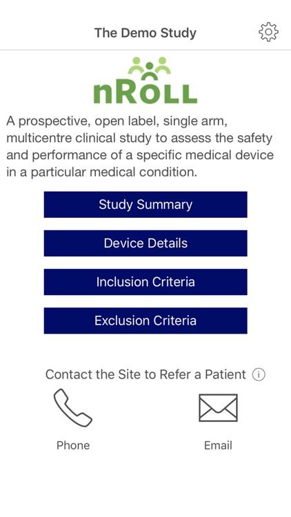 nRoll - Clinical Trial Referrals
