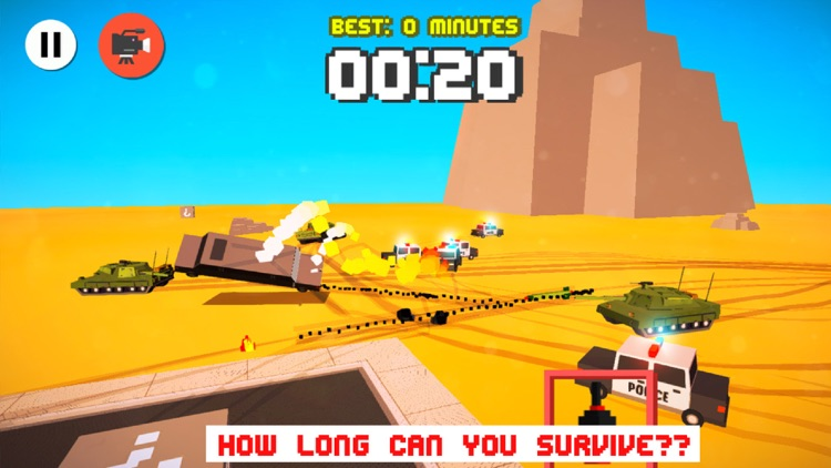 Smashy Cars - Crossy Wanted Road Rage - Multiplayer