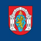 Vukovar city in your hand icon
