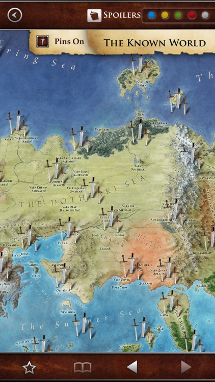 George R. R. Martin's A World of Ice and Fire – A Game of Thrones Guide screenshot-3