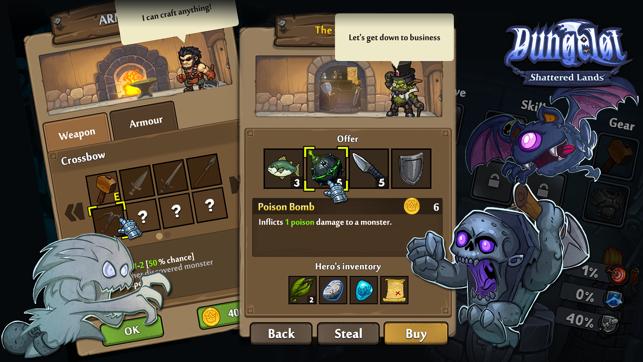 Dungelot: Shattered Lands Screenshot
