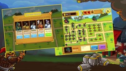 Screen Shot Three Kingdoms War: -  Heroes  Clash TD  Game 2