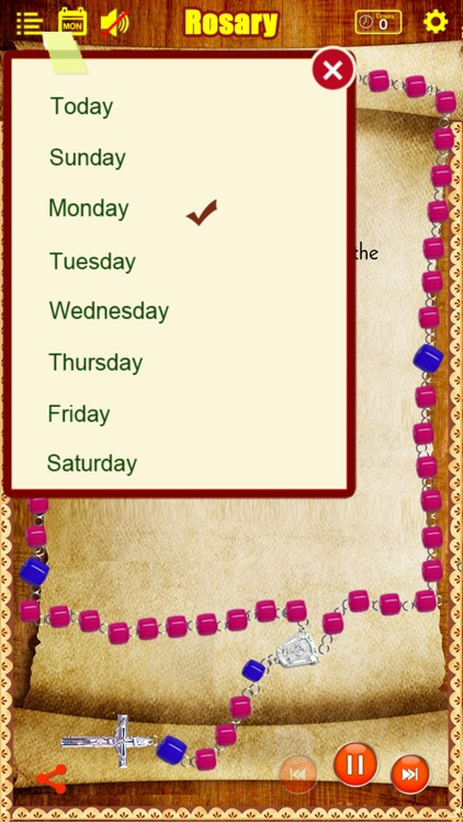 Rosary Deluxe for iPhone/iPad (The Holy Rosary) screenshot-1