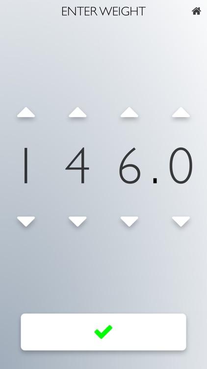 Weigh Yourself: Daily Weight Tracker Full Version screenshot-3