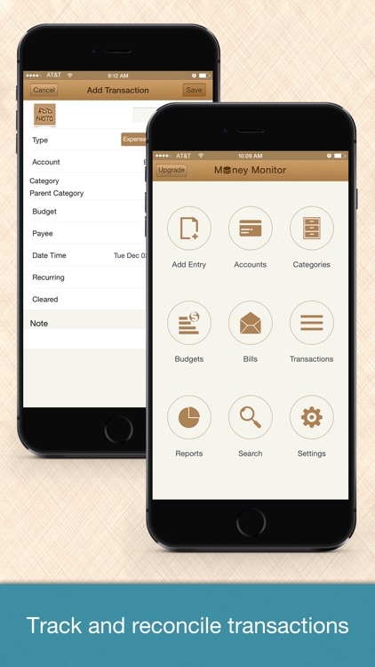 Money Monitor - Account, Budget & Bill Management