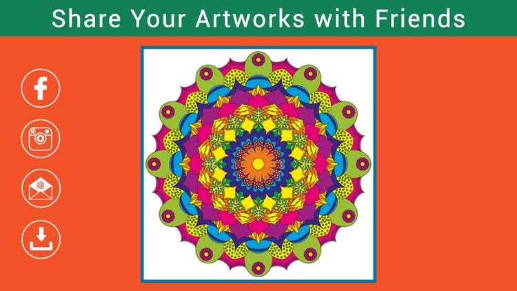 Colormy: Free Fun Stress Relief Color Therapy & Coloring Book for Adults screenshot-3