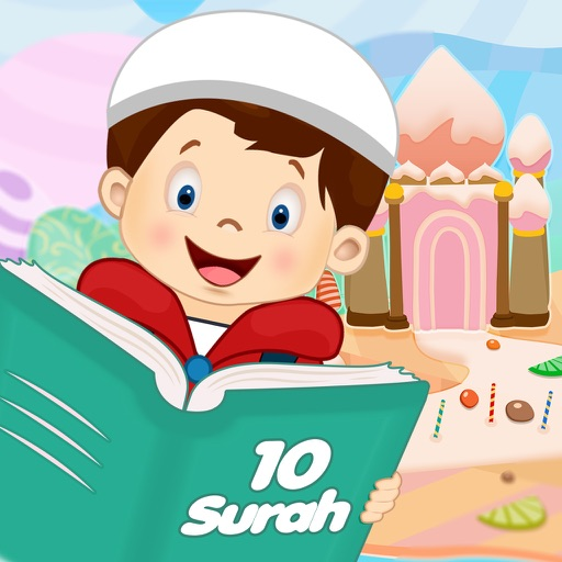 10 Surahs for Kids Word by Word Translation iOS App