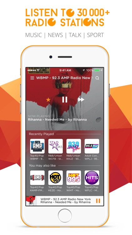 RadiON Free - Stream Live Music, Sports, News & Talk Radio Stations!