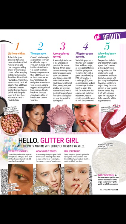 Girls' Life Mag Standard