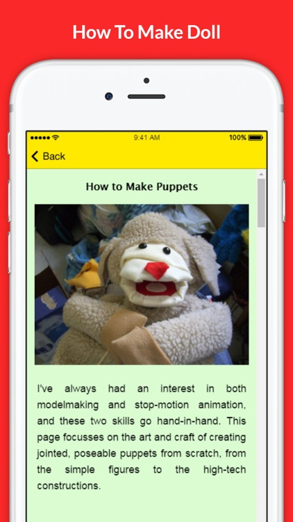 How To Make Doll - Doll Making Tutorials and Tips screenshot-2