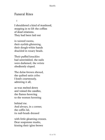 seamus heaney north collection