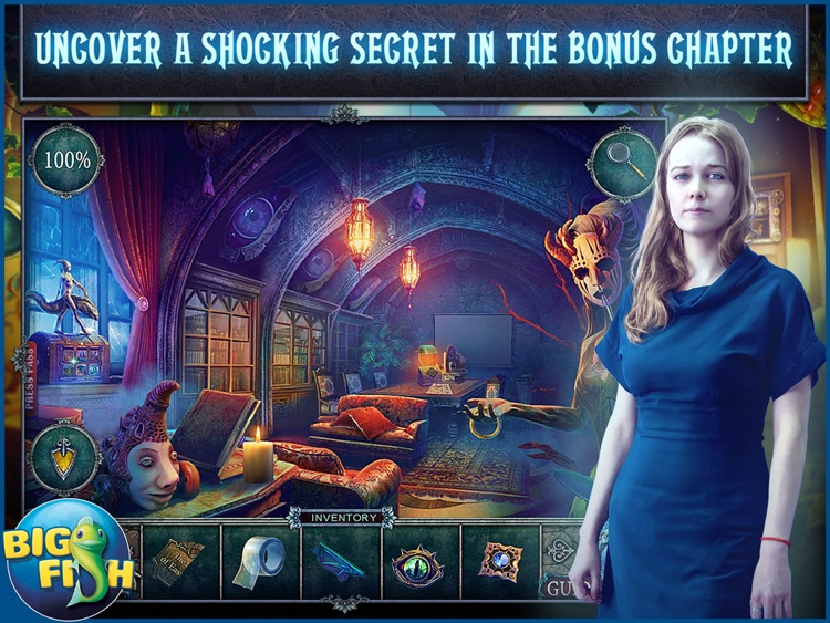 Fear for Sale: City of the Past HD - A Hidden Object Mystery (Full) screenshot-3
