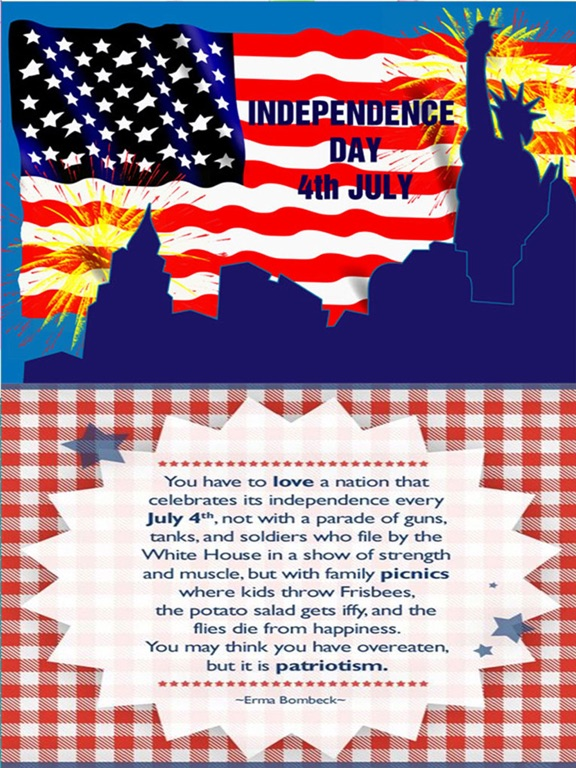 Happy 4th of july independence day usa greetings cards patriotic screenshot 2 for happy 4th of july independence day usa greetings cards patriotic m4hsunfo