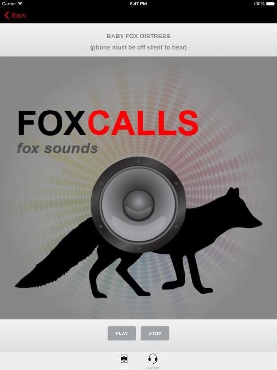 REAL Fox Calls & Fox Sounds for Fox Hunting ++ BLUETOOTH COMPATIBLE screenshot-3