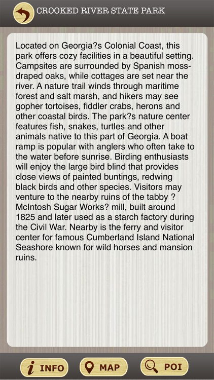 Georgia State Parks & National Parks Guide screenshot-3