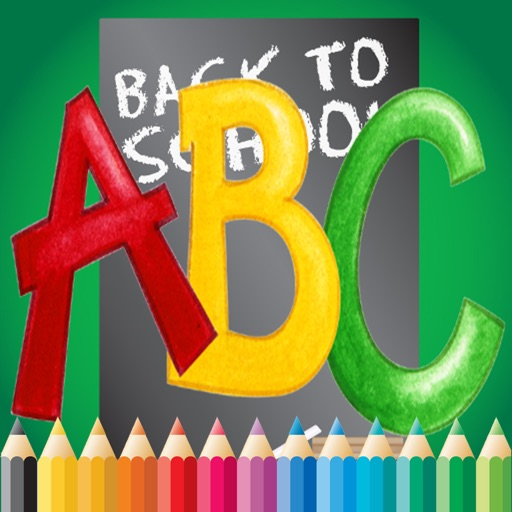 ABC Coloring Book for children age 1-10 (Alphabet Upper): Drawing & Coloring page games free for learning skill