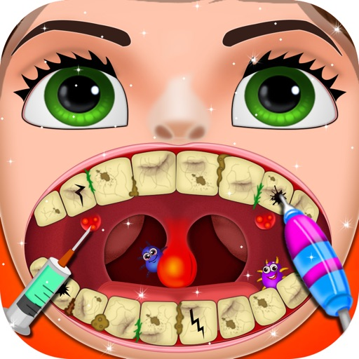 Games For Girls By Siraj Admani: Crazy Dentist Mania Game For Kids, Girls And Toddler By