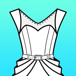 Fashion Design FlatSketch