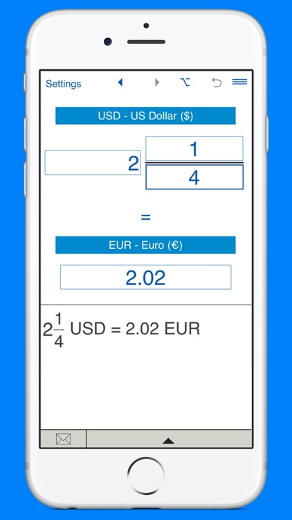 US Dollars to Euros and EUR to USD converter screenshot-3