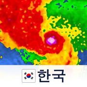 레이더 영상 한국