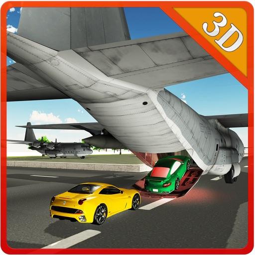 Грузовой самолет автовоз - привод мега грузовик и летать самолет в этой игре симуляторе