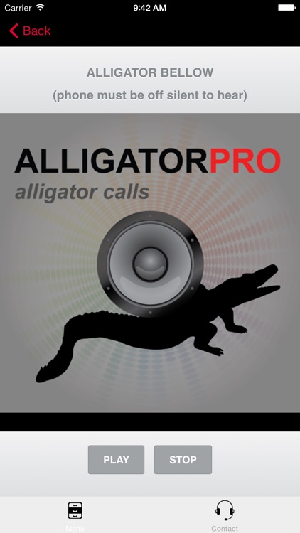 REAL Alligator Calls and Alligator Sounds for Calling Alligators (ad free) BLUETOOTH COMPATIBLE screenshot-0