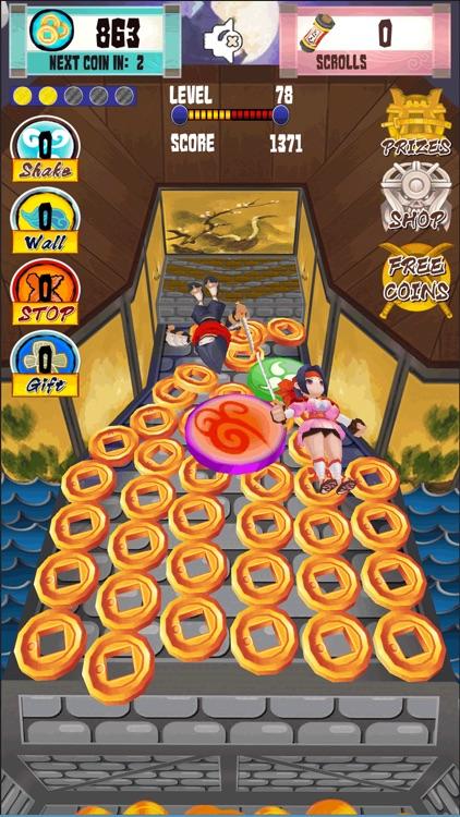 Ninja Coin Pusher screenshot-4
