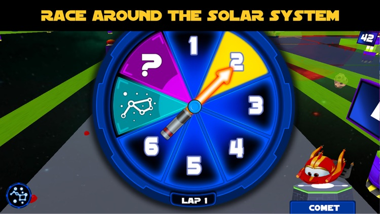 Planet Racers: Family Board Game screenshot-1