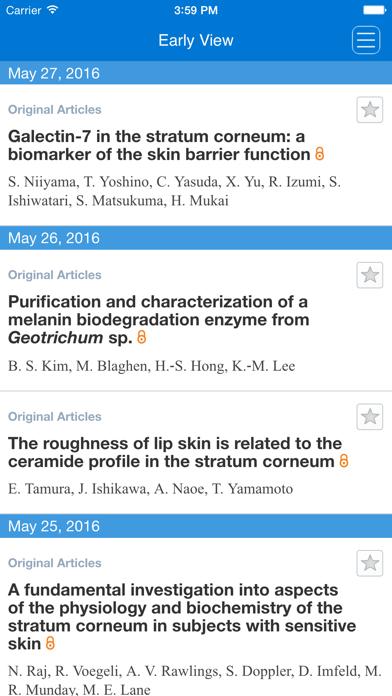 International Journal of Cosmetic Science screenshot three