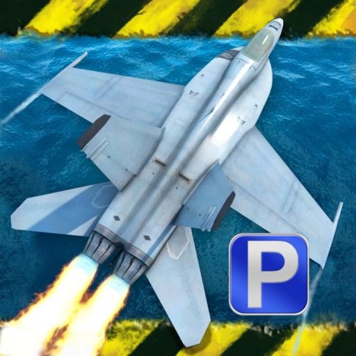 3D Fighter Jet Parking PRO - Full Navy Flight Simulation Version