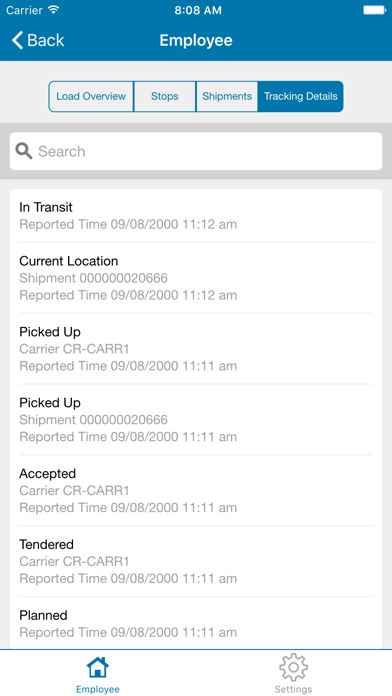 JDA Transportation Mobile User屏幕截圖5
