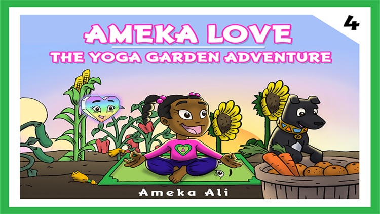 Ameka Love©™ The Yoga Garden Adventure©™ screenshot-0