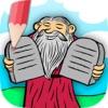 儿童圣经图画书为孩子 - 旧约和新约的漆画