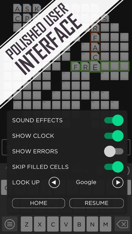 Crossword Puzzle - Redstone screenshot-4
